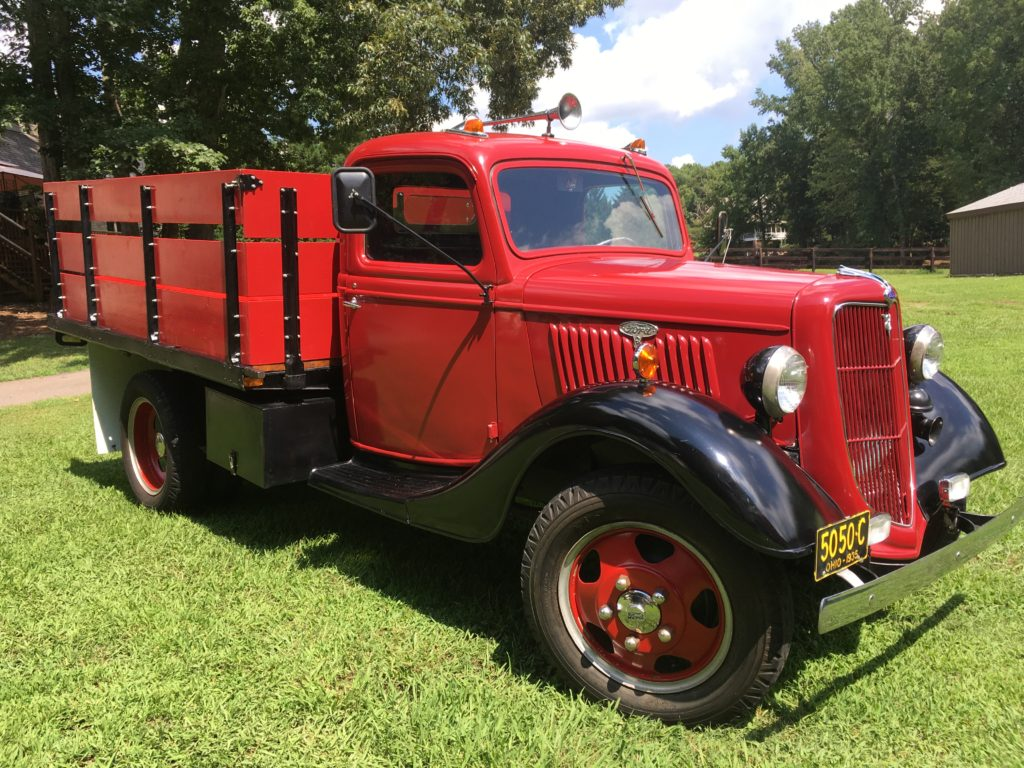 Ford F-1 Stakebed Truck